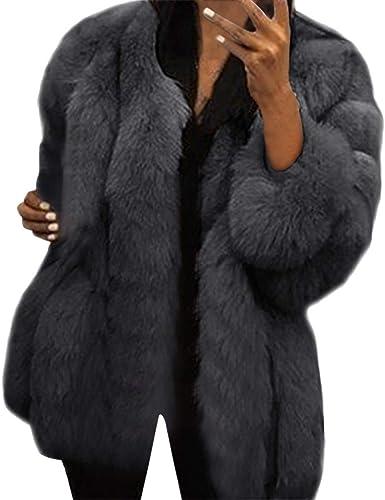 Femmes Manteaux De Vison d'hiver À Capuche Nouveau Veste en Fausse Fourrure Chaud Épais Survêtement Veste Femmes À Manches Longues lâche Noir Tops
