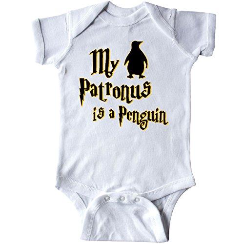 inktastic My Patronus Is a Penguin Infant Creeper 6 Months (Penguin Infant Creeper)