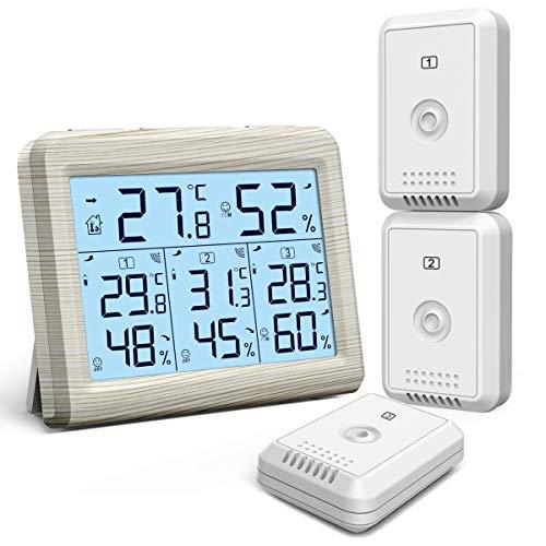 KeeKit Indoor Outdoor Thermometer