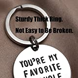 LParkin You're My Favorite Asshole Keychain Funny