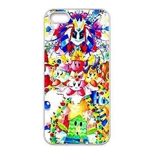 Generic for iPhone 4 4s Cell Phone Case White Kirby Custom HFGLJSGLF9315