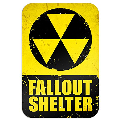 Fallout Shelter Novelty Metal Sign 6