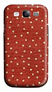 Samsung S3 Case patterns abstract parallax red 70 3D Custom Samsung S3 Case Cover