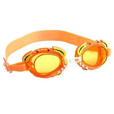 Smartstar – Lunettes de Natation Enfant Swimming Goggle avec la bande réglable – en forme de crabe