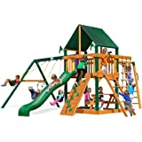 Swing Set with Canopy in Green
