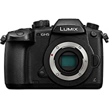 PANASONIC LUMIX GH5 Body 4K Mirrorless Camera, 20.3 Megapixels, Dual I.S. 2.0, 4K 422 10-bit, Full Size HDMI Out, 3 Inch Touch LCD, DC-GH5KBODY (USA Black) (Certified Refurbished)