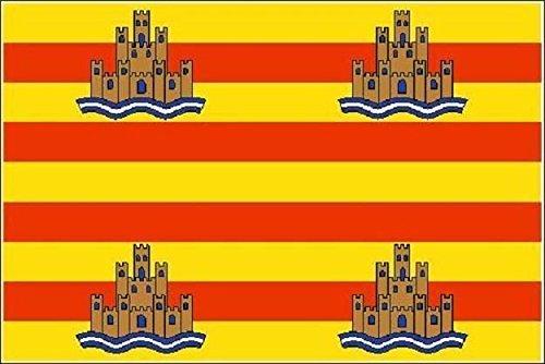 U24 Fahne Flagge Ibiza Bootsflagge Premiumqualit/ät 20 x 30 cm