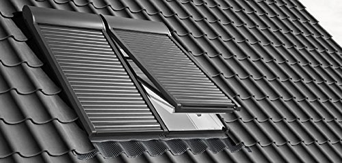 Aluminium Dunkelgrau VELUX Elektro-Rollladen SML MK08 0000S