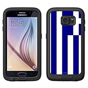 Skin Decal for LifeProof FRE Samsung Galaxy S6 Case - Greece Flag