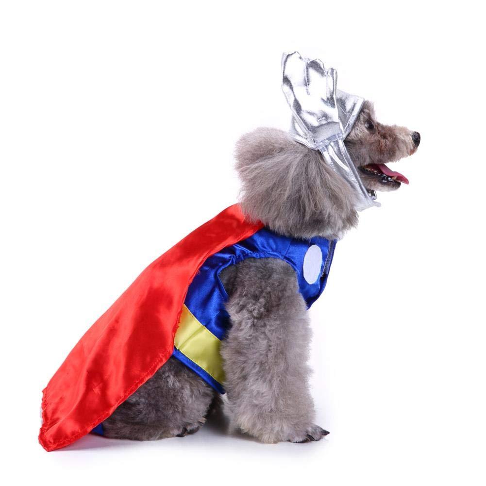 YouN Mascota Ropa para Perros Invierno Mascotas Abrigos Ropa Navidad Divertido Disfraz de Perros (M: Amazon.es: Productos para mascotas