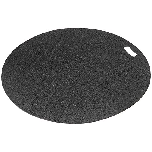 Diversitech Original Grill Mat - BBQ Floor Mat - Put Under Gas Grill, Fryer, Fire Pit - Protects Decks and Patios - 30 Inches - Round -  - Chimenea Round