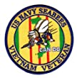 Navy Seabees Vietnam Veteran Patch by Military Productions