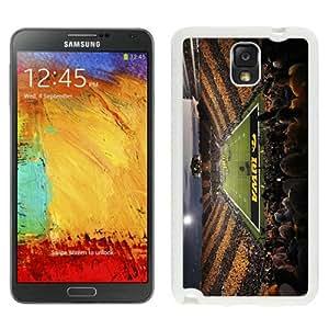 Iowa Hawkeyes Football White Abstract Design Custom Samsung Galaxy Note 3 N9005 Case