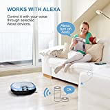 Haier XShuai C3 Smart Robot Vacuum Cleaner Works with Amazon Alexa, Camera for Video Chat Schedule Cleaning Auto-Charge 5 Cleaning Modes HEPA Filter for Pet Fur Allergens Hard Floor Carpets