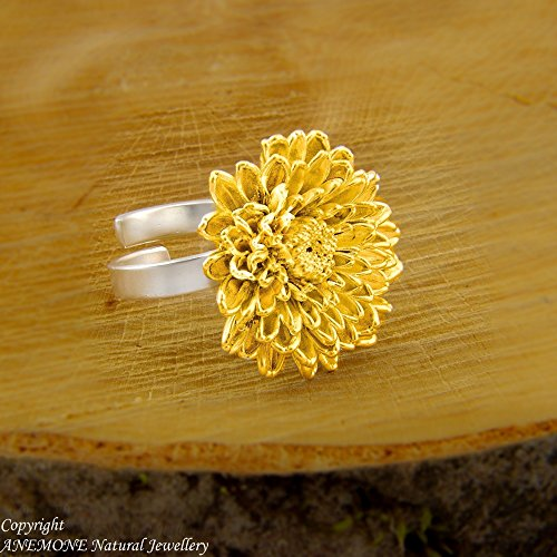 unique-chrysanthemum-flower-handmade-ring-greek-nature-inspired-open-one-size-adjustable-ring
