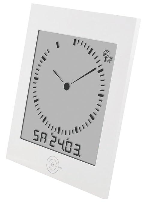 Balance Meteo - He-Clock-81 Reloj Analogico LCD Radiocontrolado