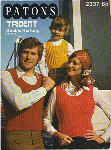 (Vintage Original Knitting Pattern - Paton's Trident (Patons 2337))