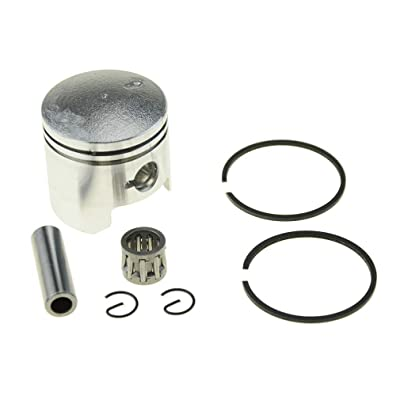 WOOSTAR 40mm Piston Kit for 2-stroke Yamaha 1994-2015 PW50: Automotive