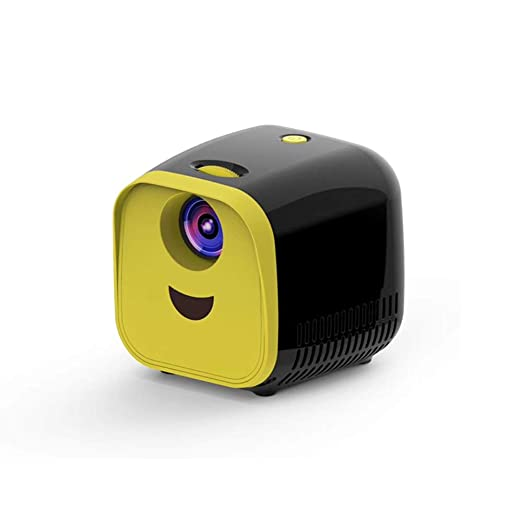 WOGQX Proyector LCD HD para Niños, Proyector Portátil De 1000 ...