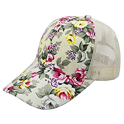 Women Ladies Fashion Baseball Caps Sun Protection Large Visor Mesh Sun Caps Hats Headwear Breathable Quickly Dry Outdoor Cycling Camping Fishing Travel Tennis Golf Beach Hats Caps Topee UV50+