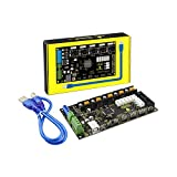 KEYESTUDIO MKS GEN 1.4 3D Printer controller Board /RAMPS 1.4 + Mega 2560 for Arduino (Black &Environmental-protection)