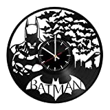 Batman Handmade Vinyl Record Wall Clock Fun gift Vintage Unique Home decor