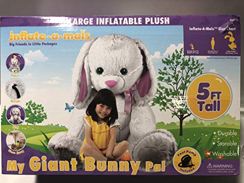 Inflate-a-mals - My Giant Bunny Pal 5ft Tall!