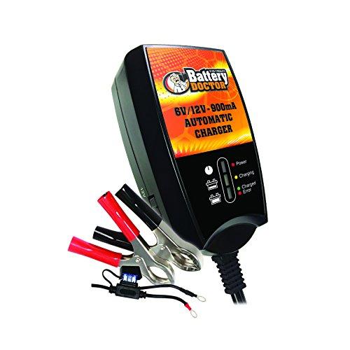 Wirthco 20026 Battery Doctor Black Certified 6 12v 900ma