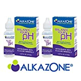 ALKAZONE Balance Your pH Antioxidants Alkaline Mineral Booster & Supplements (2 Packs)