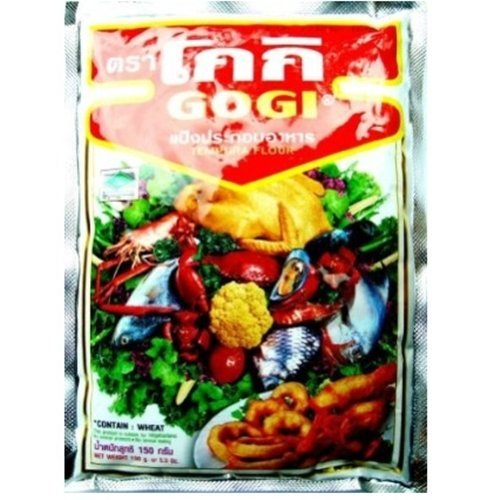 Gogi Tempura Flour Fried Traditional Cook Powder thailand food recipes 150g..
