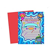 Calling All Umizoomi Friends! Team Umi Zoomi Party Supplies Invitations Decor (Invite)