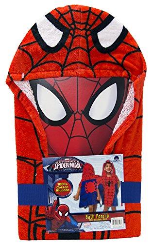 Jay Franco Hooded Towel, Spiderman Classic