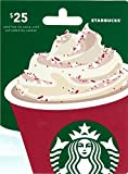 #7: Starbucks Holiday $25 Gift Card