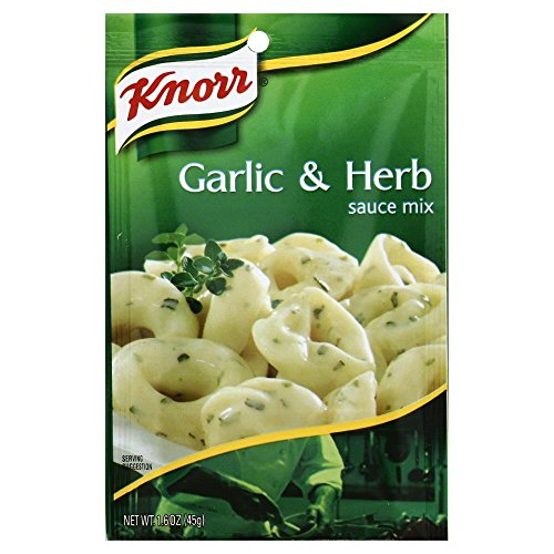 Knorr Pasta Sauces Garlic Herb Sauce Mix 1.6 Oz(Pack of 6) by Knorr