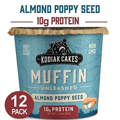 Kodiak Cakes Min Muffins High Protein Snack, Almond Poppy Seed, 2.29oz
