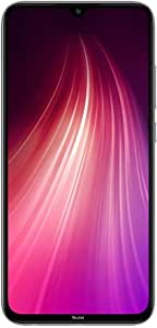 "Xiaomi Redmi Note 8 Smartphone, 6.3"", Dual SIM, 64 GB, 4GB RAM, Moonlight White"