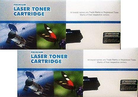Pack 2 Unidades Toner Compatible Brother TN2320 TN2345 TN 2350 ...