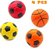 TONZE Foam Balls for Kids Soft Ball Toys Foam Football Basketball Kids Indoor Outdoor Games for 3 4 5 Year Old Boys Girls