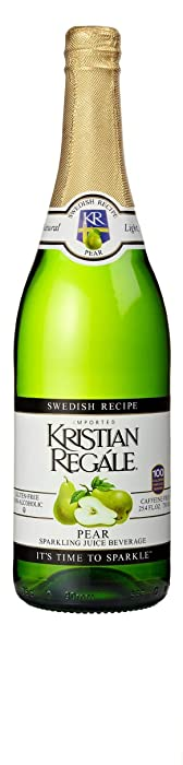 Kristian Regale Sparkling Pear Beverage, 25.4 Ounce Bottles (Pack of 4)
