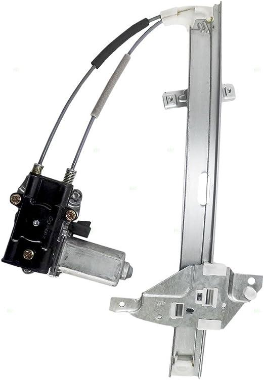 Replacement Set Front Power Window Lift Regulators /& Motor Compatible with 1997-2003 Grand Prix Sedan 10315138 10315137