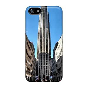 Hot IdS21441NTOt Cases Covers Protector For Iphone 5/5s- Rockefeller Center