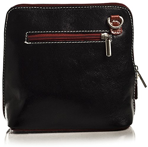 Big Handbag Shop - Bolso cruzados de Piel para mujer Talla única Busy - Brown