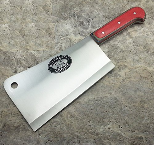 Heavy Duty 13.25 Inch Meat Cleaver Butcher Knife High Qualit