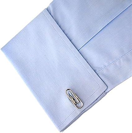Leisial/™ Gemelos de Hombres con Acero Inoxidable Transmisi/ón de Autom/óvil Botones de la Joyer/ía para Accesorios de la Camisa de Hombre Mujer 1 Par