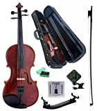 D'Luca PD01 Orchestral Series Intermediate Violin Outfit - 1/4
