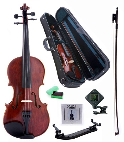 D'Luca PD01 Orchestral Series Intermediate Violin Outfit -1/2