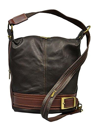 Neue Hand Tasche, Borsa a tracolla donna marrone brown small