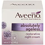 Aveeno Absolutely Ageless Restorative Night Cream, 1.7 Oz