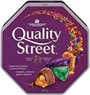 Quality Street Imported Caramels; Crémes & Pralines; 180g
