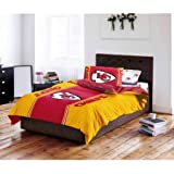 NFL Kansas City Chiefs Full Bed in a Bag Complete Bedding Set #27942545